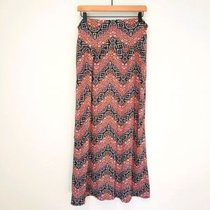 Vintage Y2K AB Studio Boho Maxi Skirt
